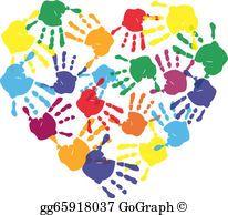 Handprints clipart 1 » Clipart Portal.