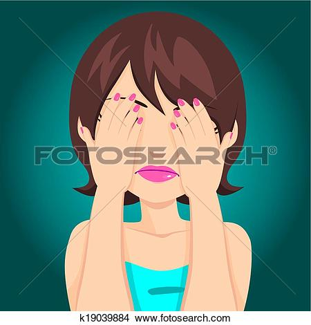 Hands covering eyes Clipart EPS Images. 402 hands covering eyes.