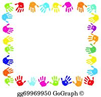 Border clipart hand, Border hand Transparent FREE for.