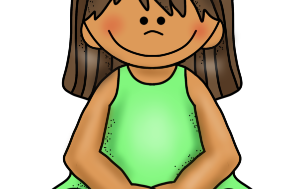 Hands In Lap Clipart.