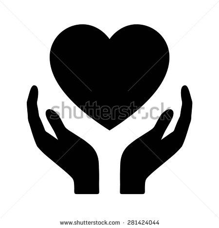 Heart In Hands Clipart.
