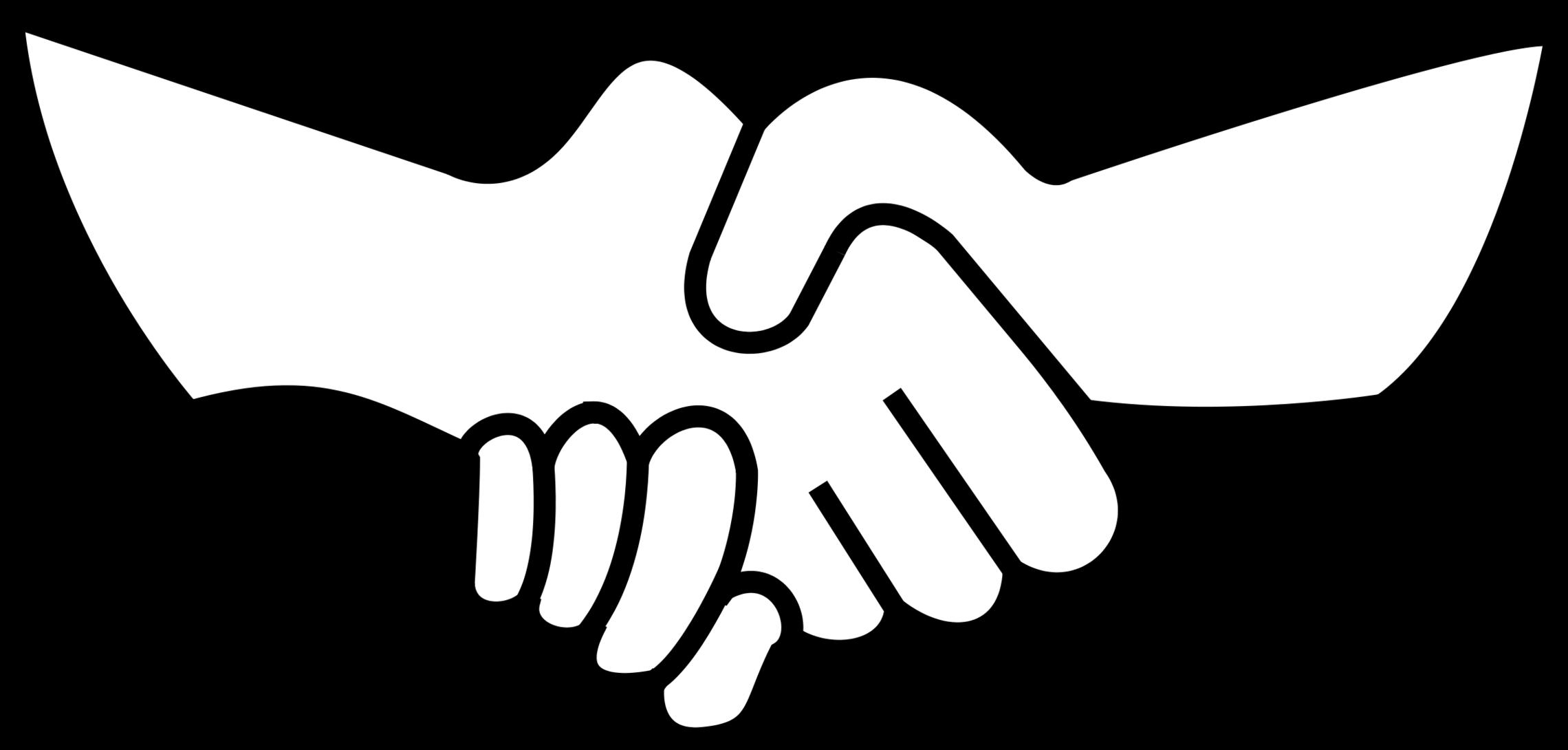 Clip art helping hands.