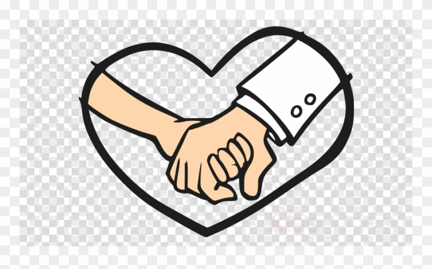 Download Holding Hands Together Cartoon Transparent.