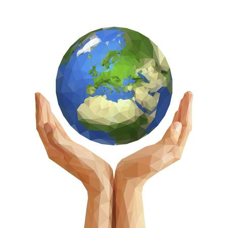 5,080 Hands Holding Earth Cliparts, Stock Vector And Royalty Free.