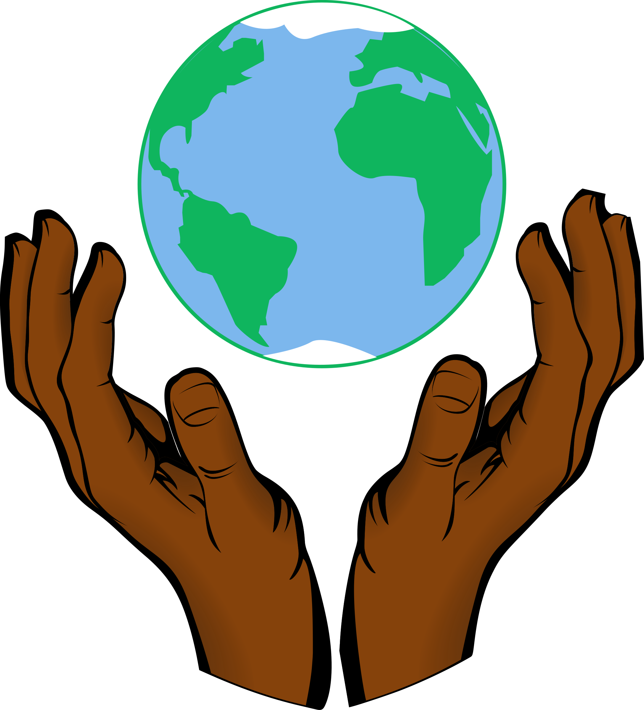 Globe clipart hands holding, Globe hands holding Transparent.