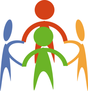 People Holding Hands In A Circle Clip Art at Clker.com.