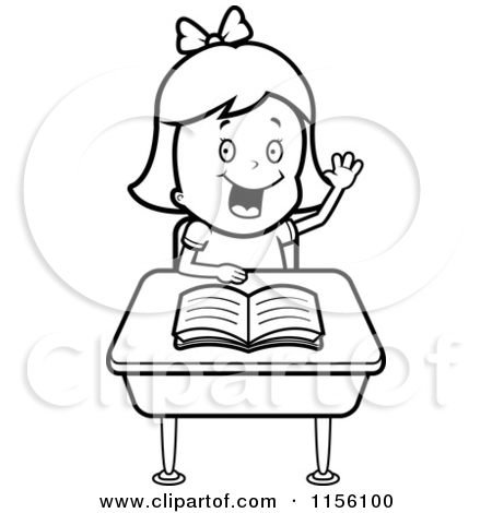Hands On Desk Clipart.