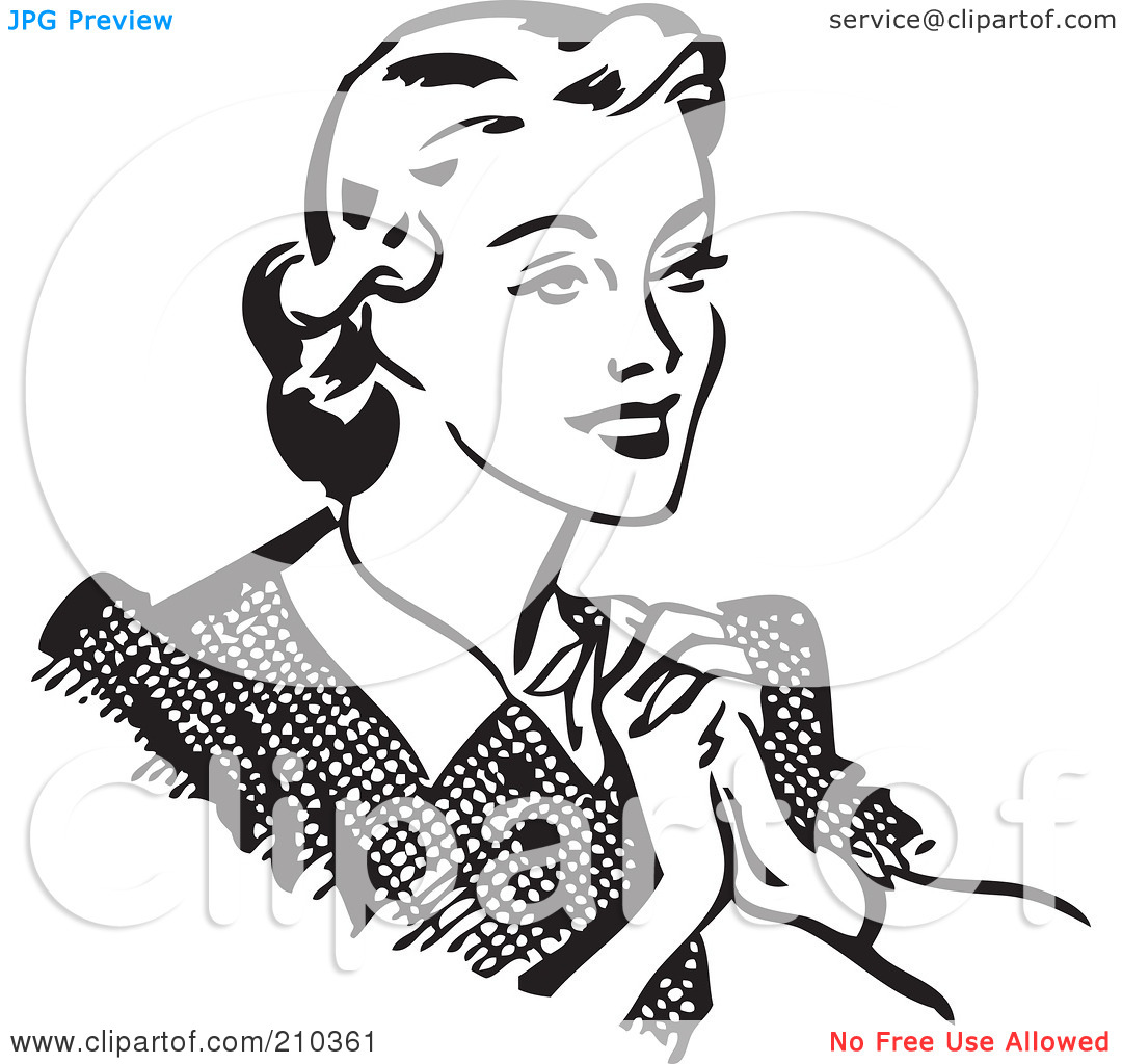 Woman Chest Clipart.
