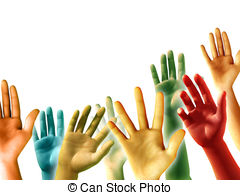 Hands raised Stock Illustrations. 10,278 Hands raised clip art.