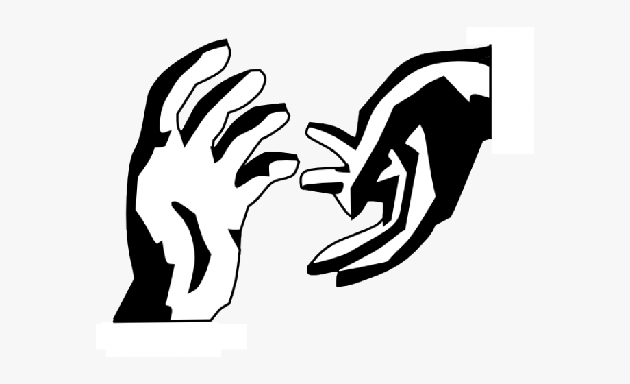 Hand Reaching Cliparts.