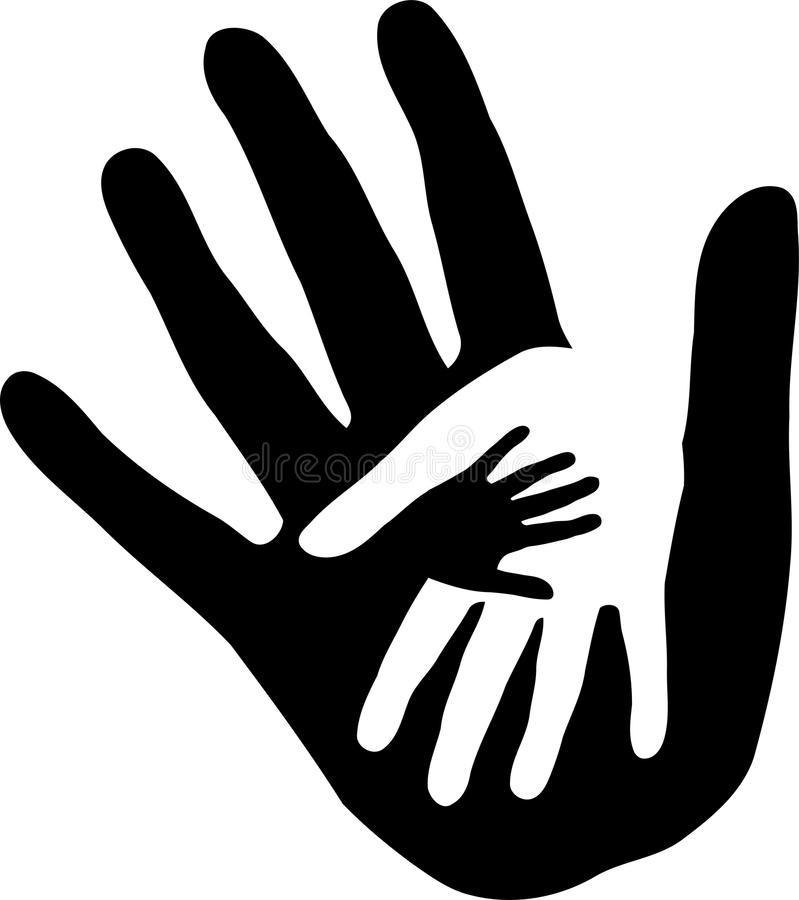 Hands Together Stock Illustrations.