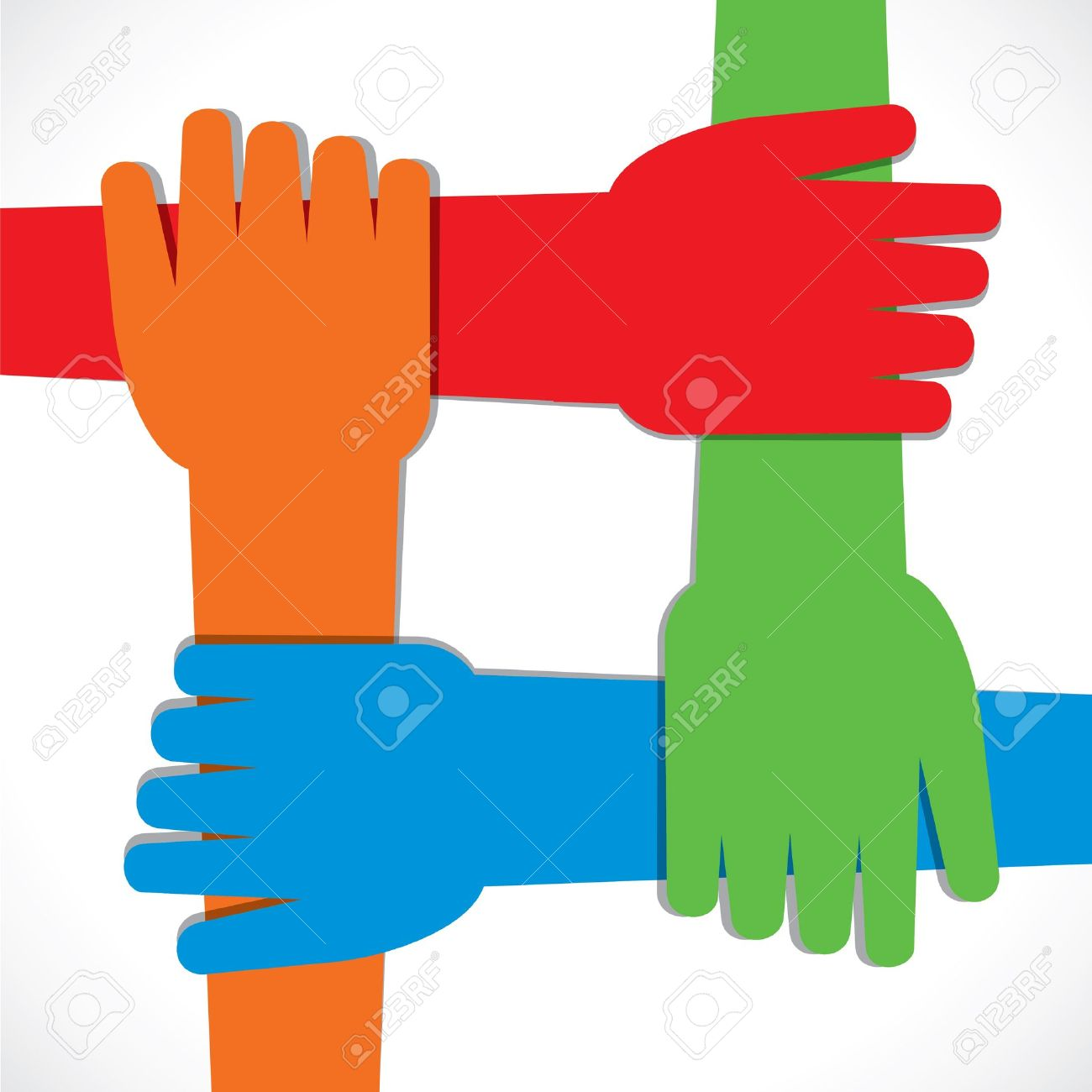 Hands together clipart 11 » Clipart Station.