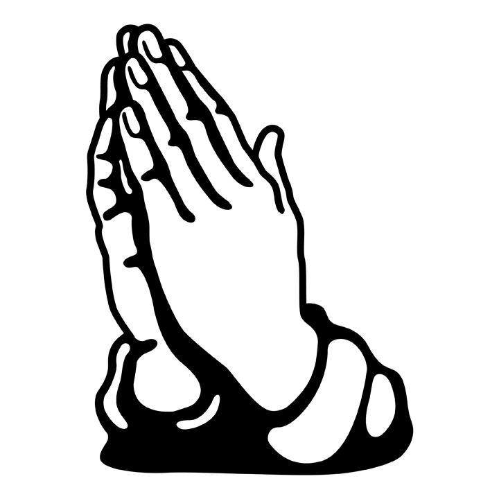 Praying Hands Free Clipart.