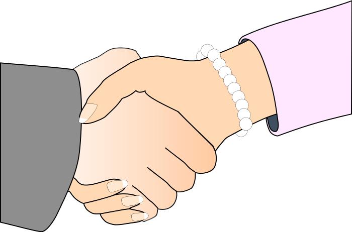 Handshake clip art download.