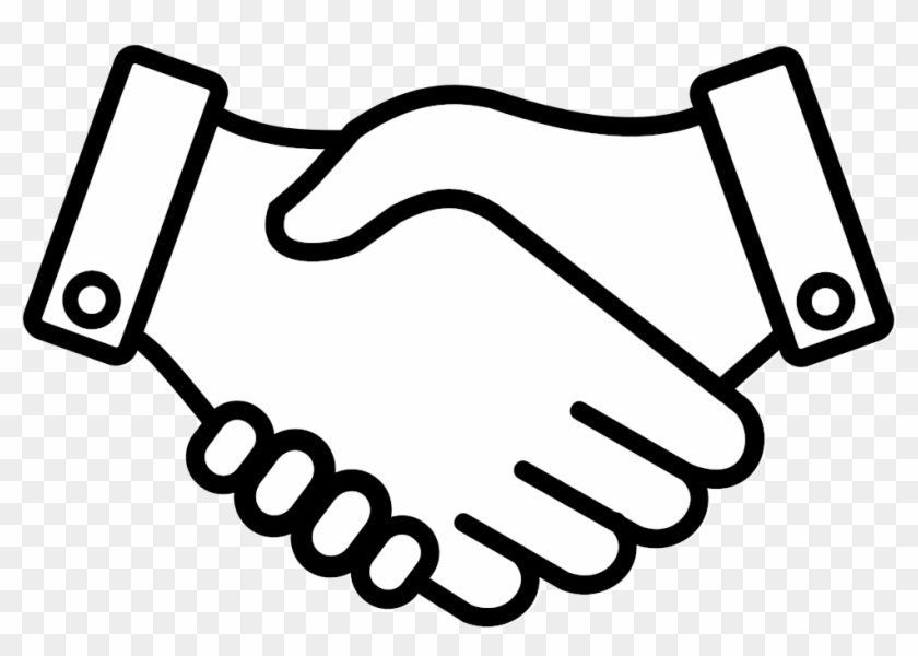 This Free Icons Png Design Of Handshake 002, Transparent Png.