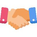 Handshake Icons.
