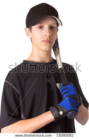 Handsome Teenage Boy Notebook Pen Struggling Stock Photo 71933407.