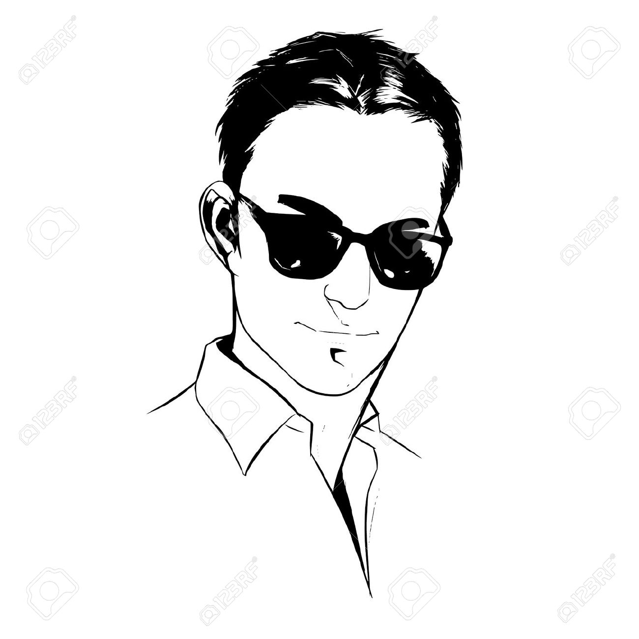 Handsome clipart.