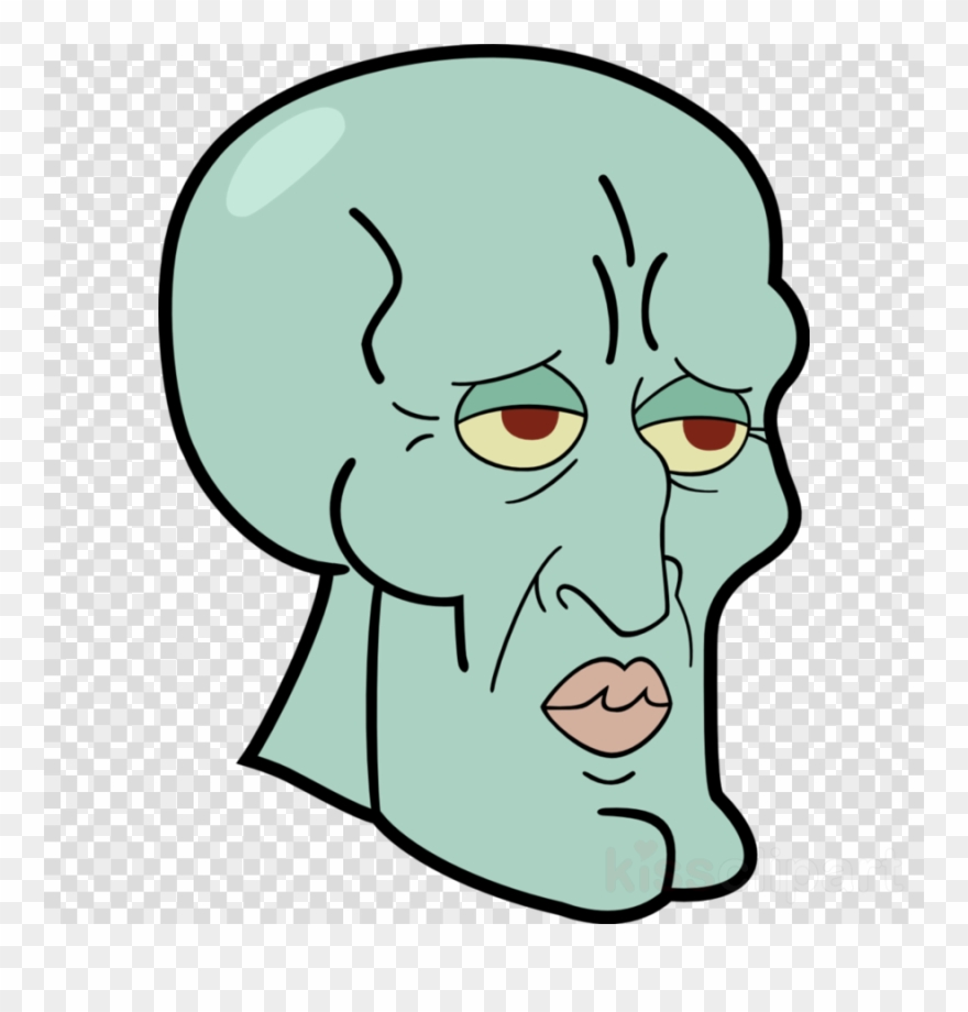 Handsome Squidward Png Clipart Squidward Tentacles.