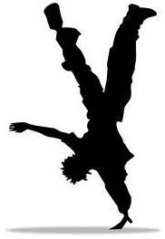Handstand Clipart.