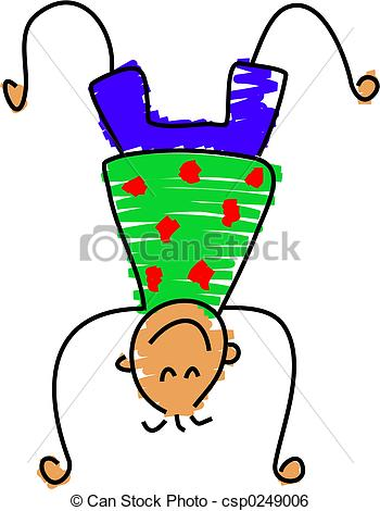 Handstand Stock Illustrations. 1,230 Handstand clip art images and.