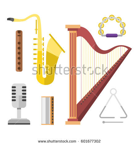Irish Instruments Stock Images, Royalty.