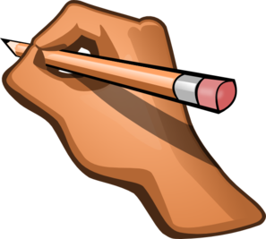 Clipart Handwriting.