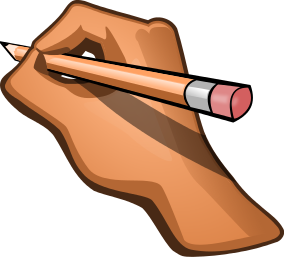 Writing Pencil Clipart.
