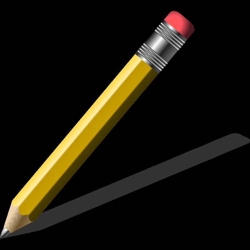 Handwriting Pencil Clipart.