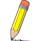 Pencil Writing Clip Art.