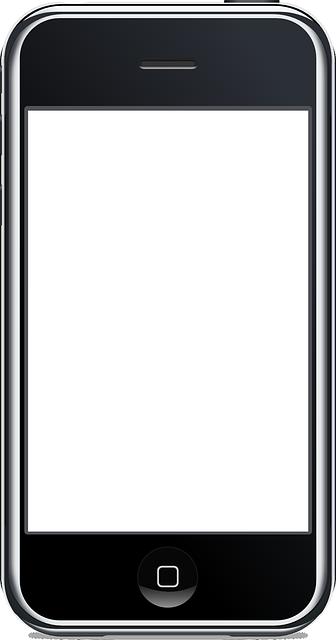 Handy Clipart Schwarz Weiß