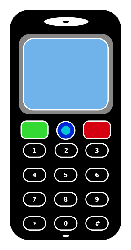 Handy clipart - ClipgroundOld Cell Phone Clip Art