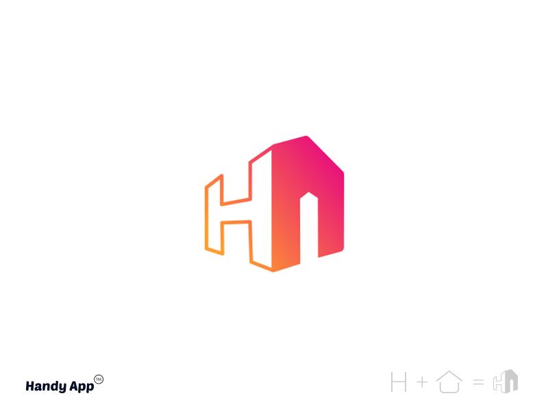 Handy app logo.