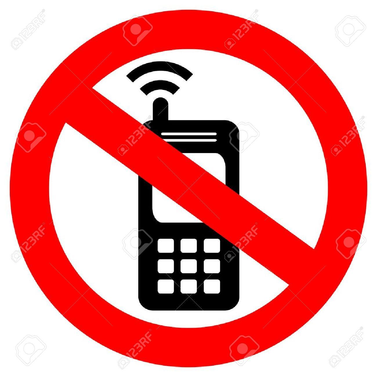 Kein Handy Zeichen Lizenzfrei Nutzbare Vektorgrafiken, Clip Arts.