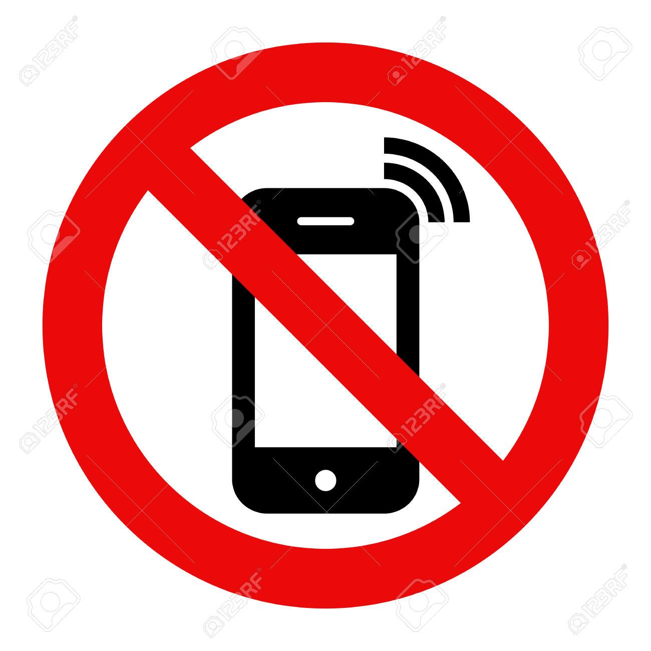 Handy Verboten. Kein Handy.