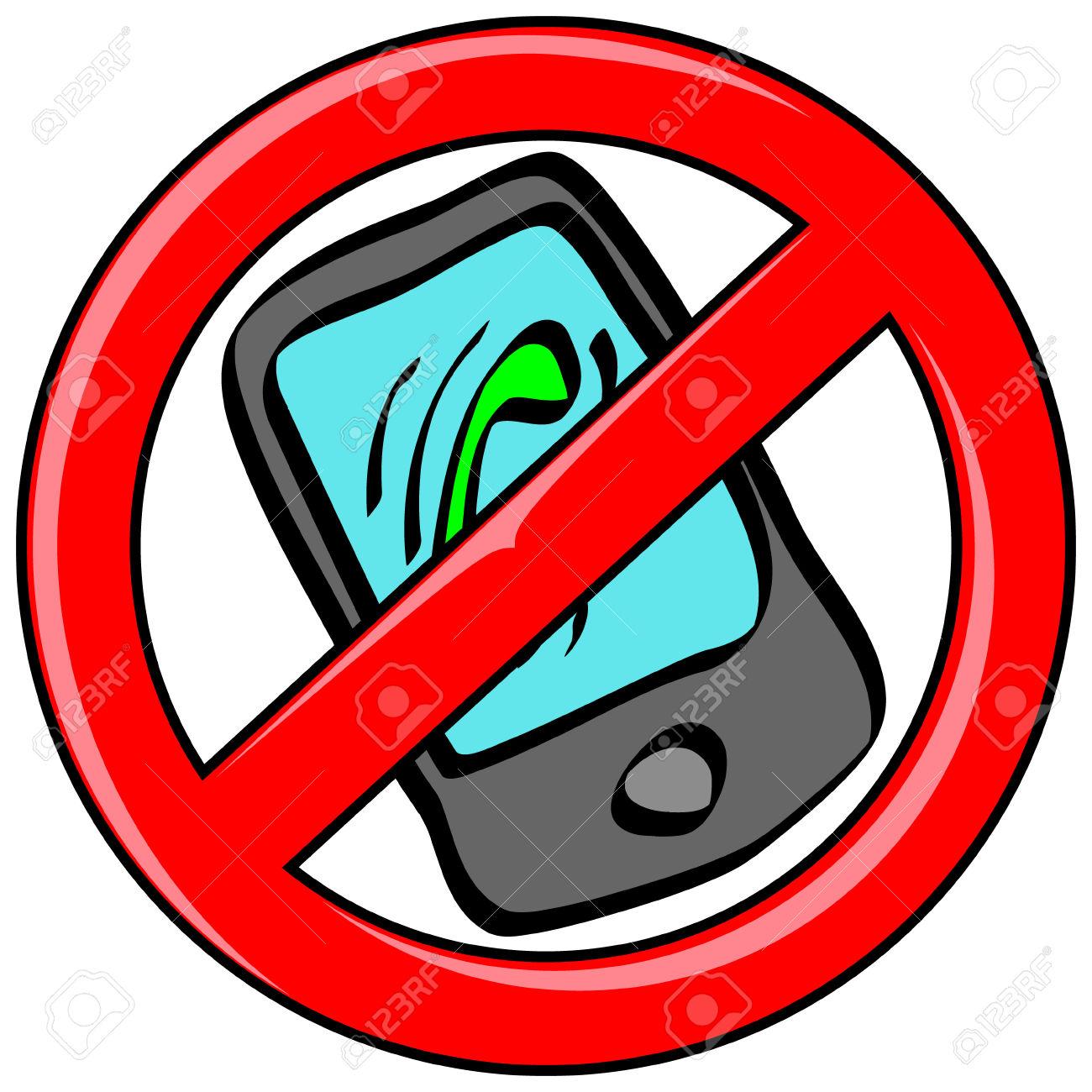 Mobile Handy Mit Dem Eingehenden Anruf.
