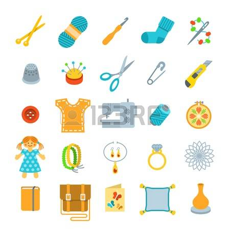 12,338 Handicrafts Stock Vector Illustration And Royalty Free.