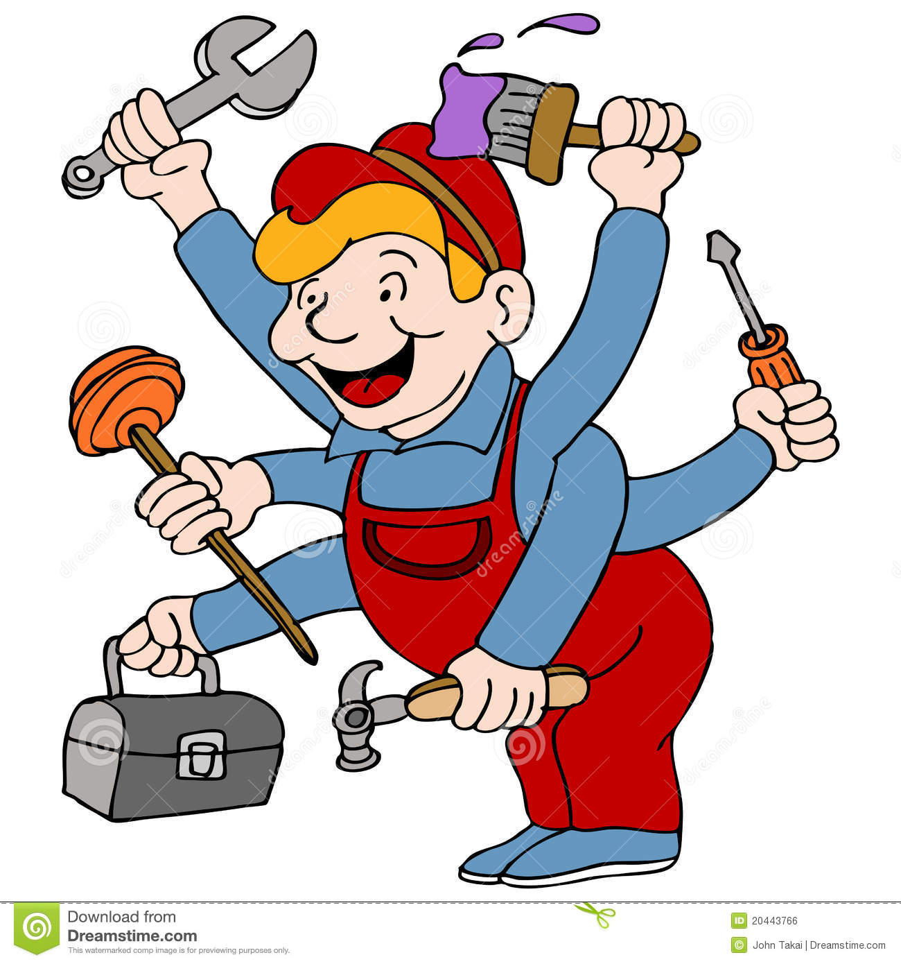 Handyman clipart free download clipground - Clipart bricolage ...