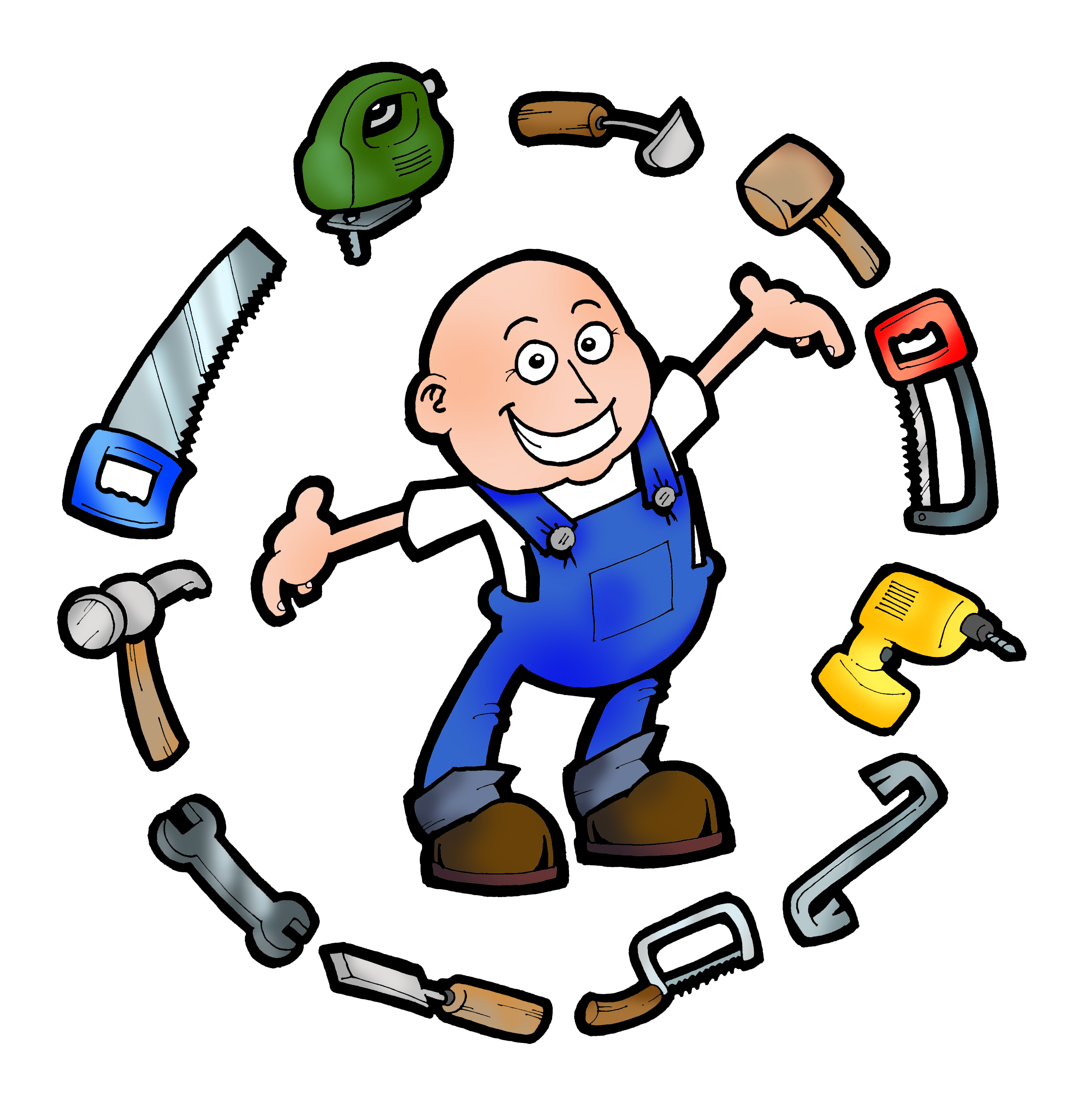 Handyman clipart free.