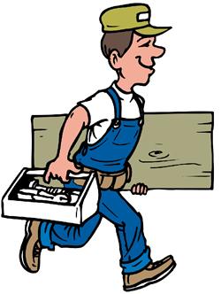Free handyman clipart.
