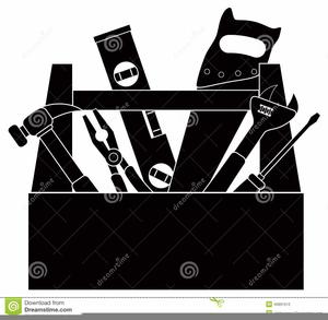 Handyman Clipart Black And White.