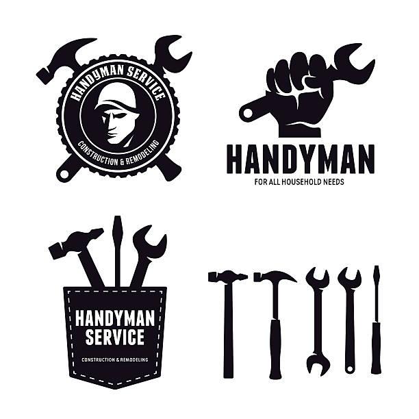 Best Handyman Illustrations, Royalty.