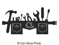 Tool belt Illustrations and Clipart. 3,107 Tool belt royalty free.