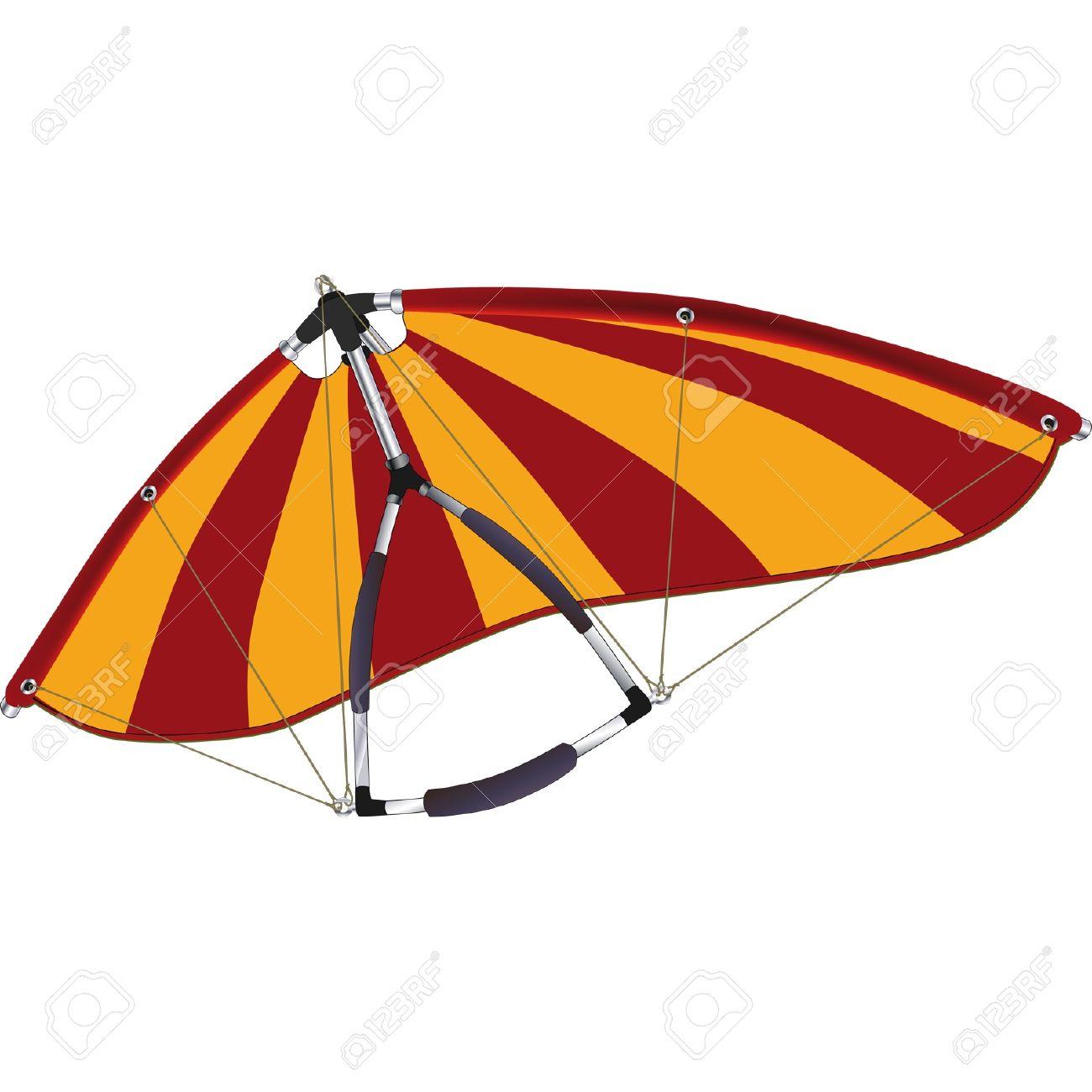 Hang Gliding Royalty Free Cliparts, Vectors, And Stock.