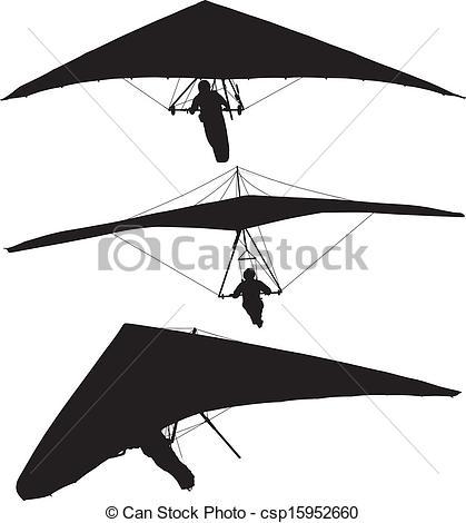 Hang glider Stock Illustrations. 675 Hang glider clip art images.