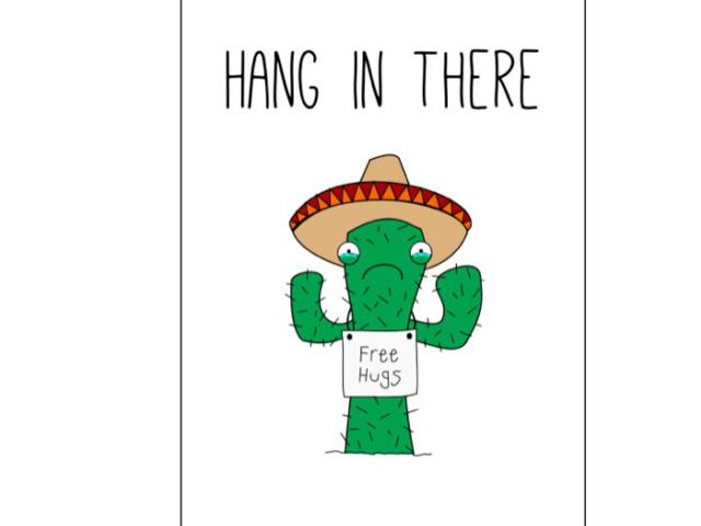 Hang In There Clipart 9.
