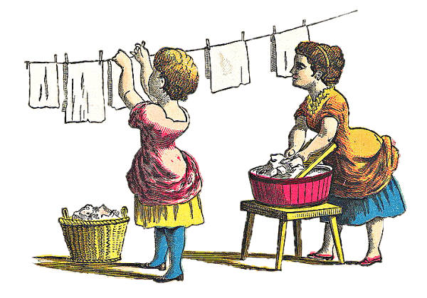 Laundering 20clipart.