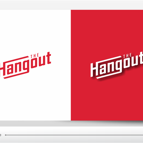 Create a cool & funky logotype for The Hangout.