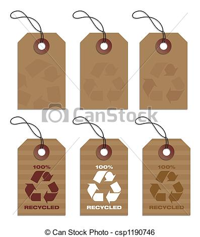 Hang tags clipart.
