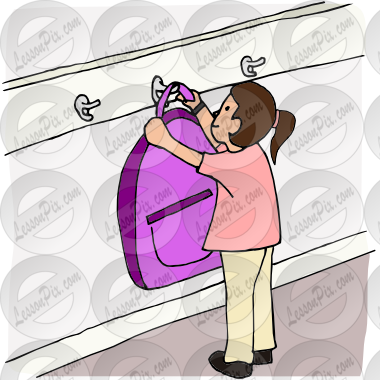 Hang up backpack clipart clipart images gallery for free download.